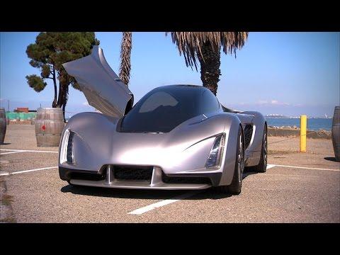 CNET News – Blade car brings 3D printing to car making