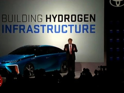 CNET News – Toyota outlines hydrogen fuel cell ambitions