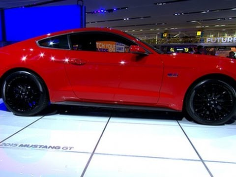 CNET On Cars – On the road: 2015 Mustang revealed