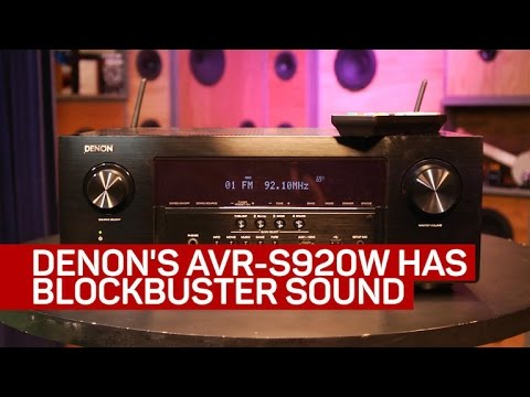 Denon's AVR-S920W offers blockbuster sound and great usability Denon's AVR-S920W offers blockbuster sound and great usability