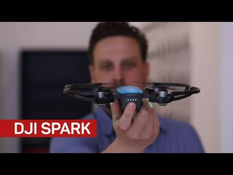 DJI Spark makes piloting a drone as simple as waving your hand