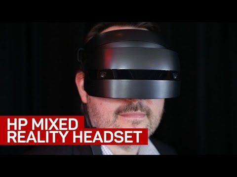 Eyes-on with HP's mixed-reality headset