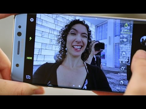 Galaxy Note 7 camera closeup