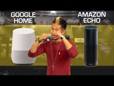 Google Home vs. Amazon Echo – 2017 (CNET Prizefight)