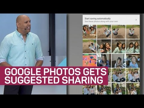 Google Photos gets smarter with suggested sharing