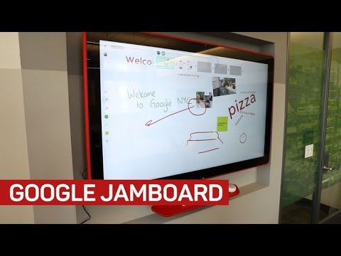 Google's 55-inch Jamboard is a super-deluxe connected whiteboard