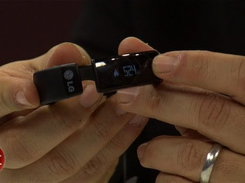 Health trackers in full force at CES 2014
