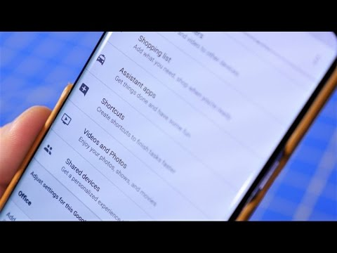 How to use Google Home shortcuts