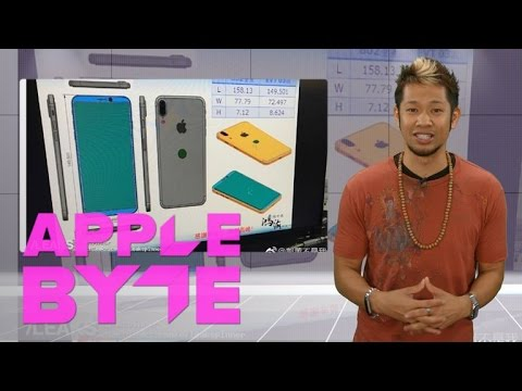 iPhone 8 designs reveal rear Touch ID and vertical camera lens (Apple Byte)