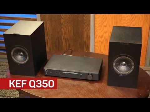 KEF's Q350 speakers pack a punch