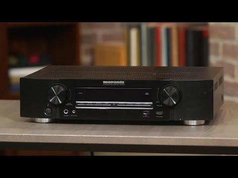Marantz's slim NR1605 receiver has fat sound