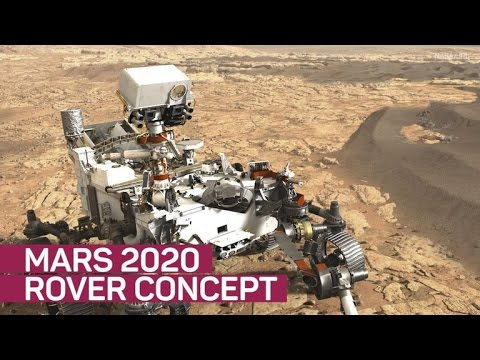 Mars 2020 rover gets updated concept art