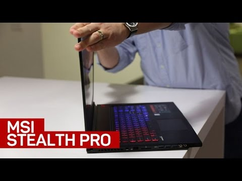 MSI's thin Stealth Pro 4K laptop is nothing but hit and miss