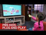 PBS Kids streaming stick looks like a toy, plays games and videos