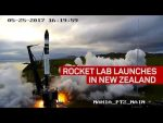 Rocket Lab makes first rocket launch from private pad, and New Zealand (CNET News)