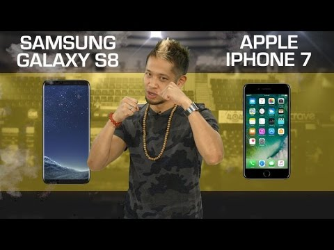 Samsung Galaxy S8 vs. Apple iPhone 7