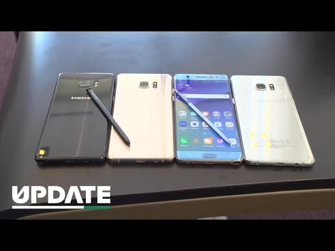 Samsung reveals the Galaxy Note 7