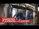 Samsung's craziest washer and dryer yet