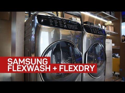 Samsung's craziest washer and dryer yet