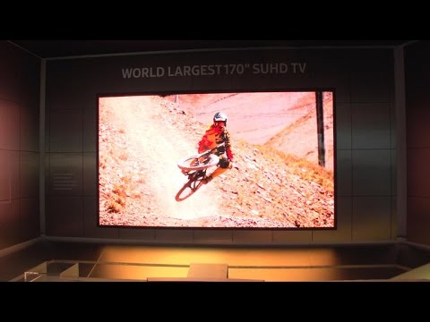 Samsung's crazy 170-inch TV uses modules to get huge