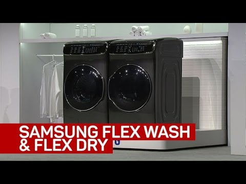 Samsung's new vision for your washer and dryer