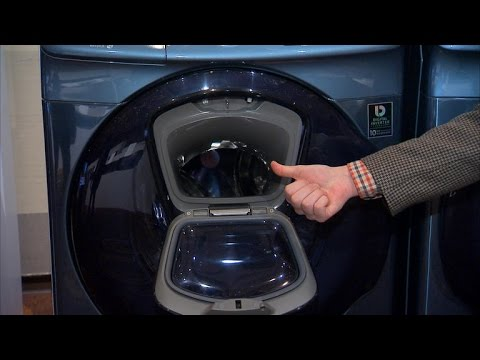 Samsung's newest washer has — you guessed it — a door in a door