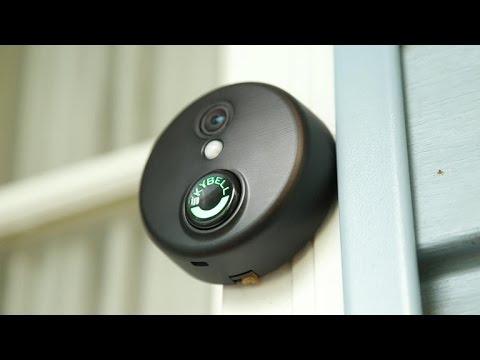 SkyBell's HD buzzer makes your front door smarter
