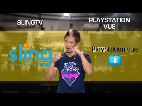 Sling TV vs. PlayStation Vue (CNET Prizefight)