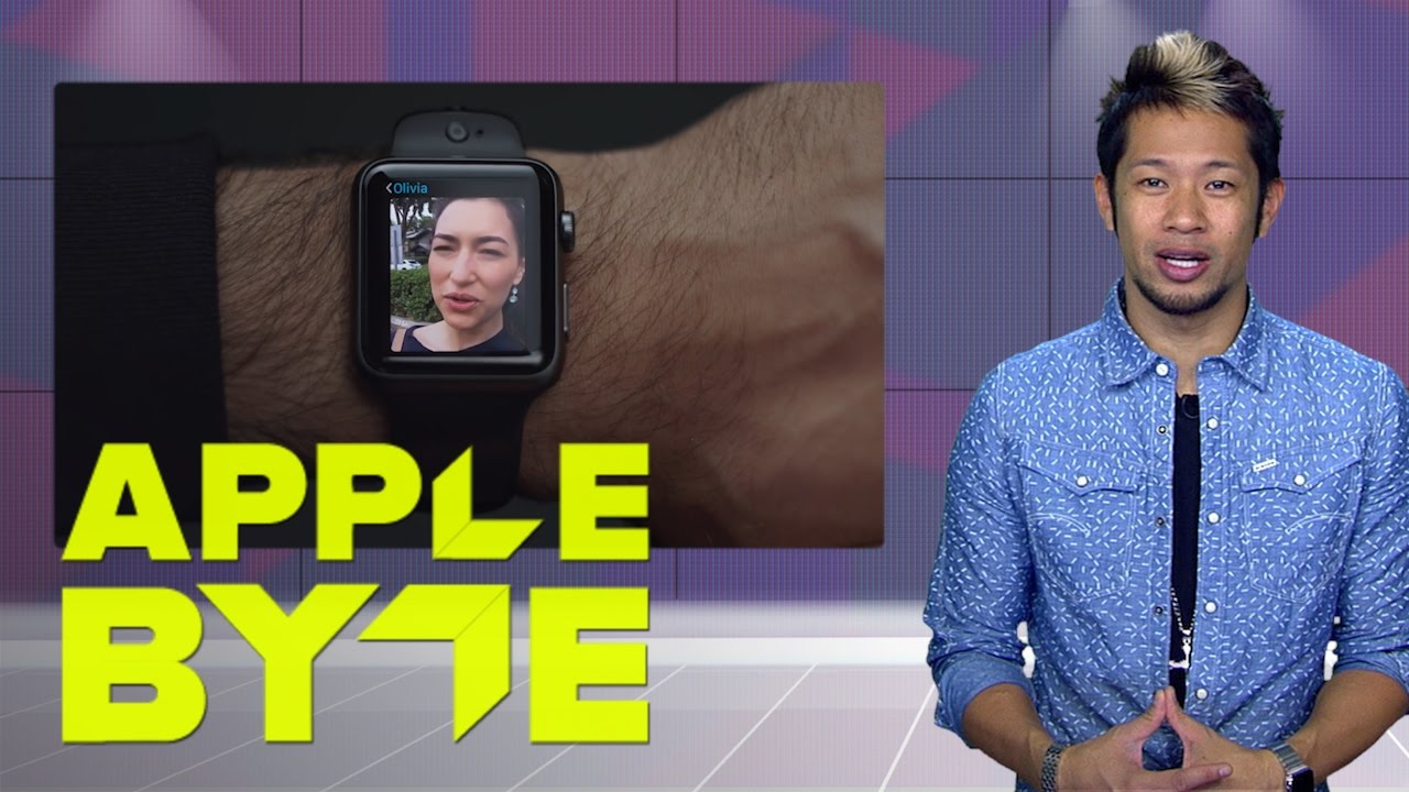 The Apple Watch gets Dick Tracy style video chat (Apple Byte)