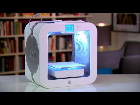 The Cube 3 is a cute 3D printer to say the least