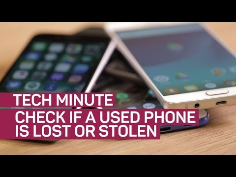 The easy way to check if a phone is lost or stolen