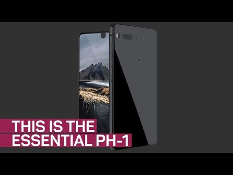 The Essential Phone is almost all screen (CNET News)