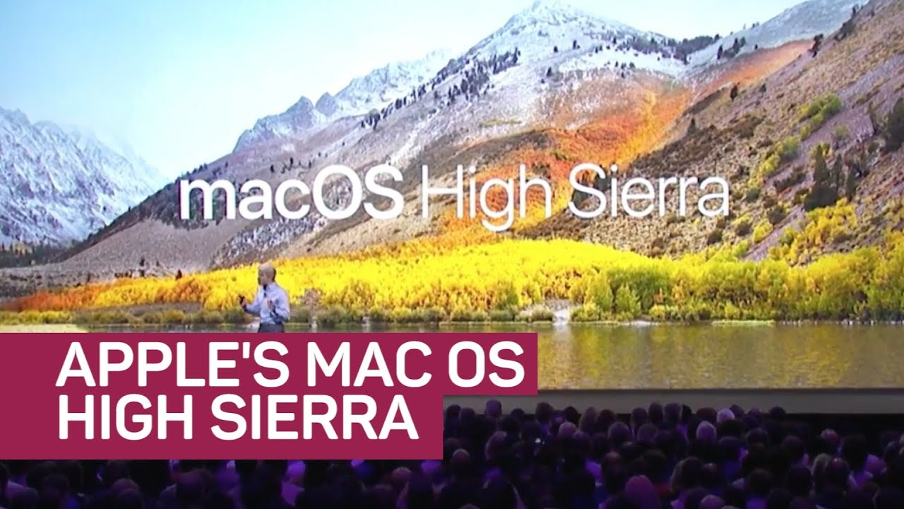 Apple introduces new MacOS High Sierra (CNET News)