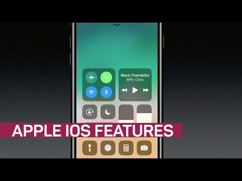 Apple iOS 11 debuts with all-new control center (CNET News)