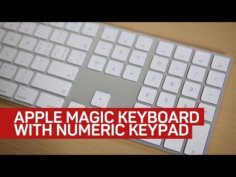 Apple's new by the numbers keyboard