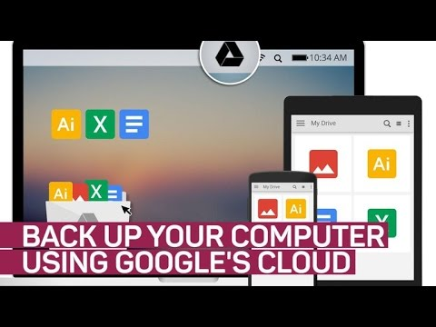 Back Up Your Computer with Google's Cloud