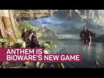 BioWare's brand new game, Anthem, gets a longer look at Xbox's E3 event