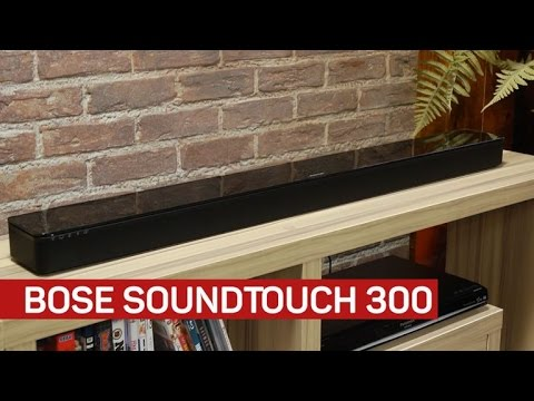 Bose SoundTouch 300 offers crazy-wide sound in a small box