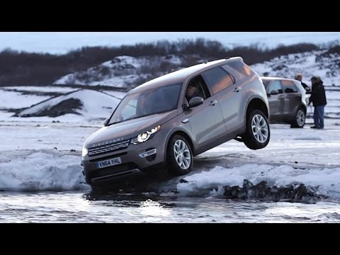 Car Tech – Icy adventure in the Land Rover Discovery Sport