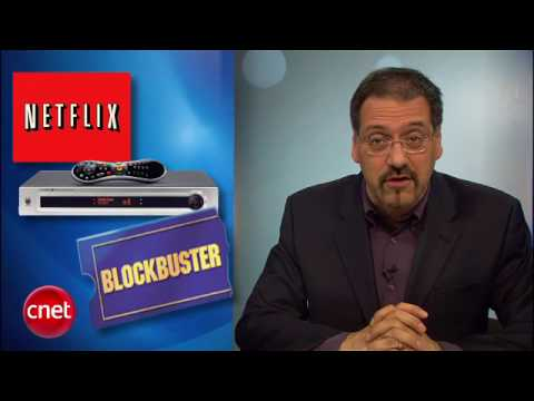 CNET Buzz Report: Blockbuster vs. Netflix
