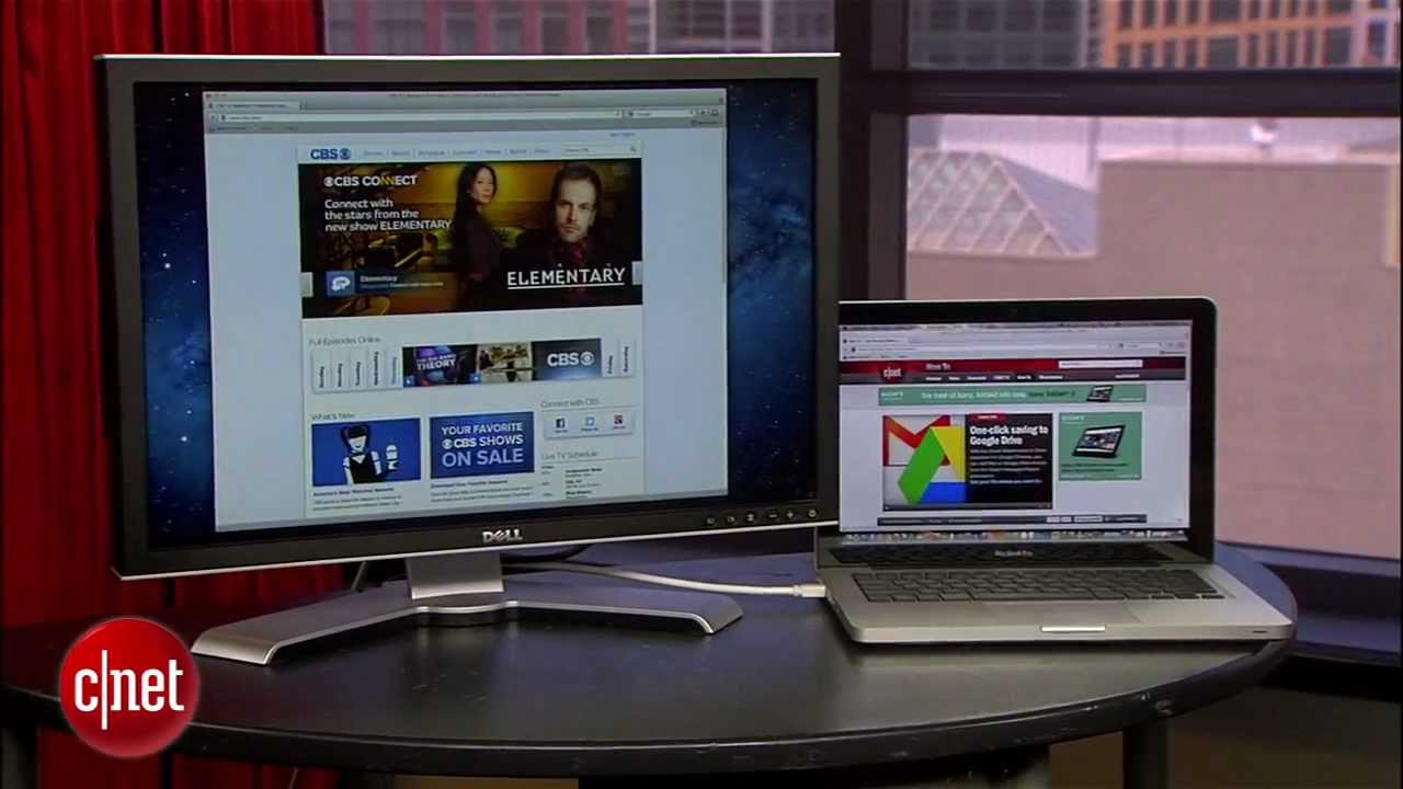 CNET How to: Add a second monitor to your computer