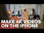 CNET How To - Make 4K videos on the iPhone