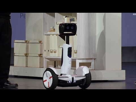 CNET News – See Intel's Segway robot in action