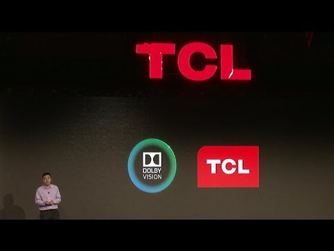 CNET News – TV maker TCL announces high-end TV with Dolby Vision HDR