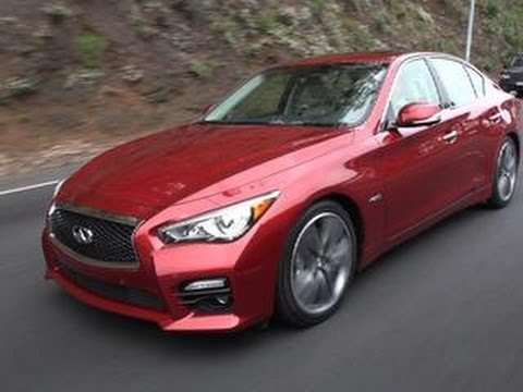CNET On Cars – 2015 Infiniti Q50S Hybrid: Standout tech in a sea of Q cars – Ep. 41