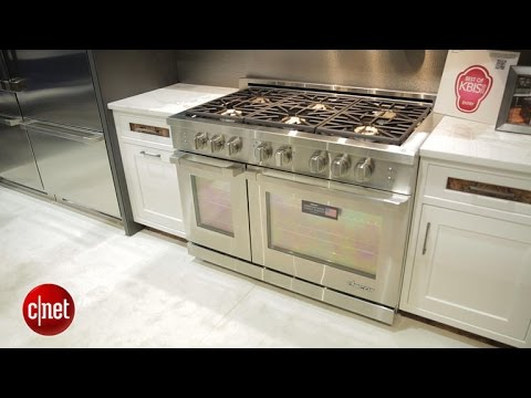 Cook with gas like a pro on the hardy Decor Renaissance range