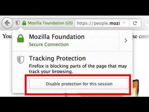Firefox blocks ads from tracking you