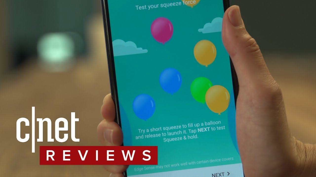 HTC U11: A phone you can squeeze for selfies