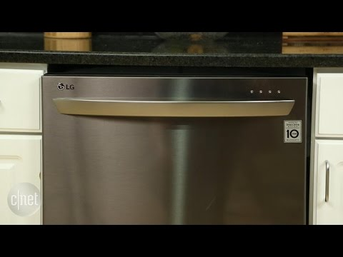 LG's black stainless dishwasher is a lovable problem child