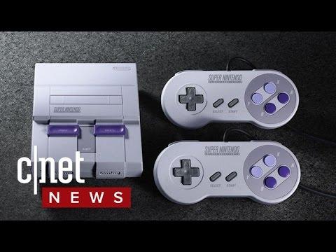 Nintendo announces the SNES classic